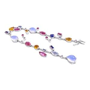 Jewelry - 14 Karat Gem Stones Ladies Bracelet